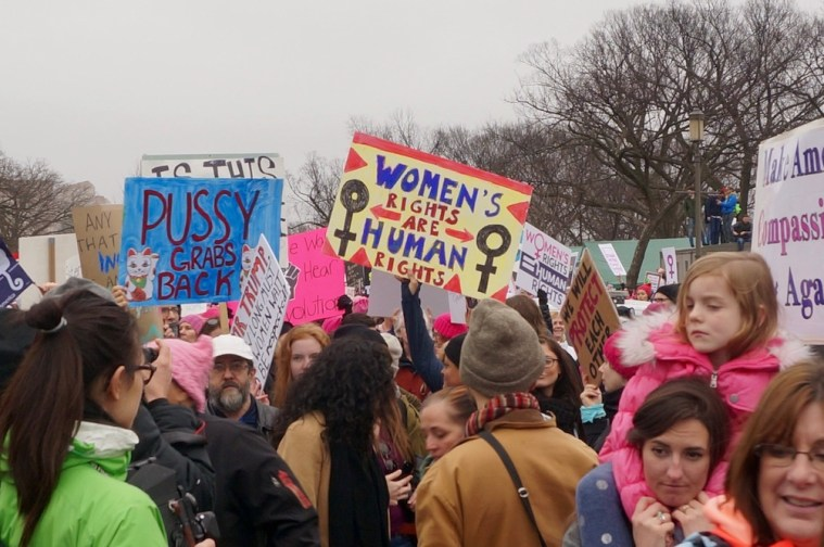 womens march washington dc crowds