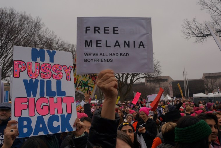 womens march washington dc free melania