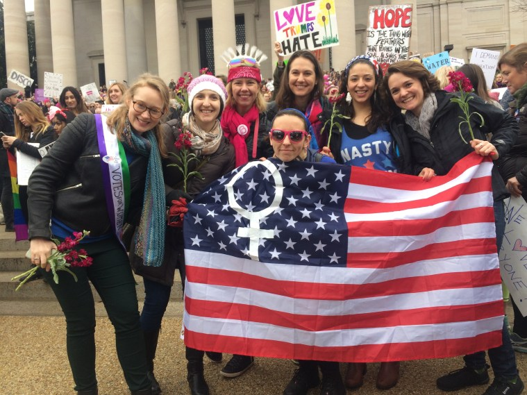 womens march washington dc friends