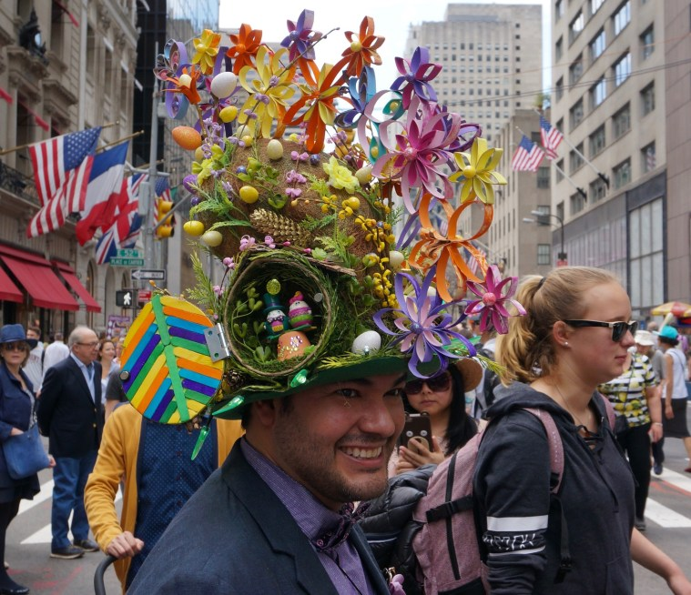 easter bonnet parade 2017 ed hatter