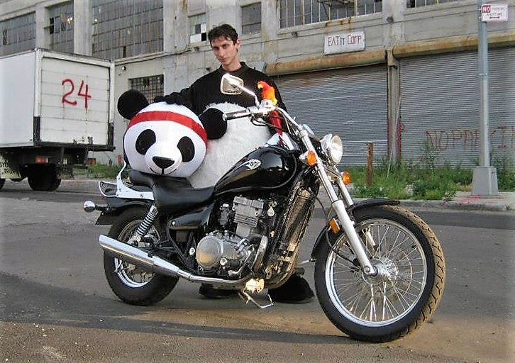 michael eisenstein nerdy assassin motorcycle