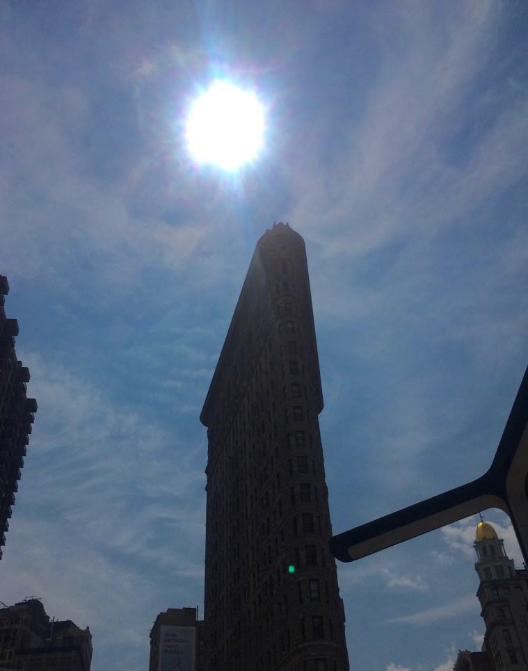 solar eclipse flatiron