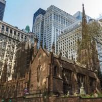 Les 3 raisons qui prouvent qu'on peut visiter Trinity Church sans s'ennuyer