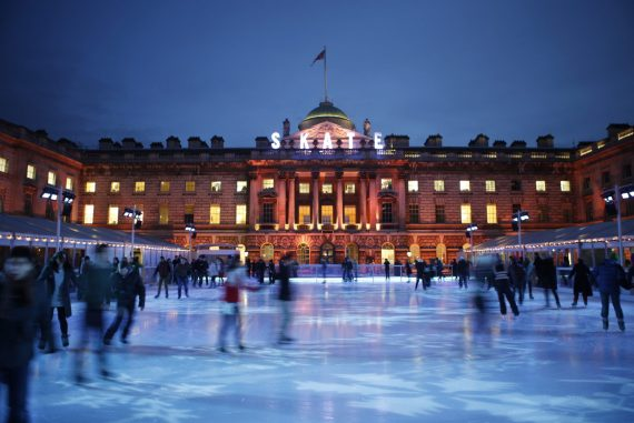 Ice Rink at Somerset House New Yorker Meets London