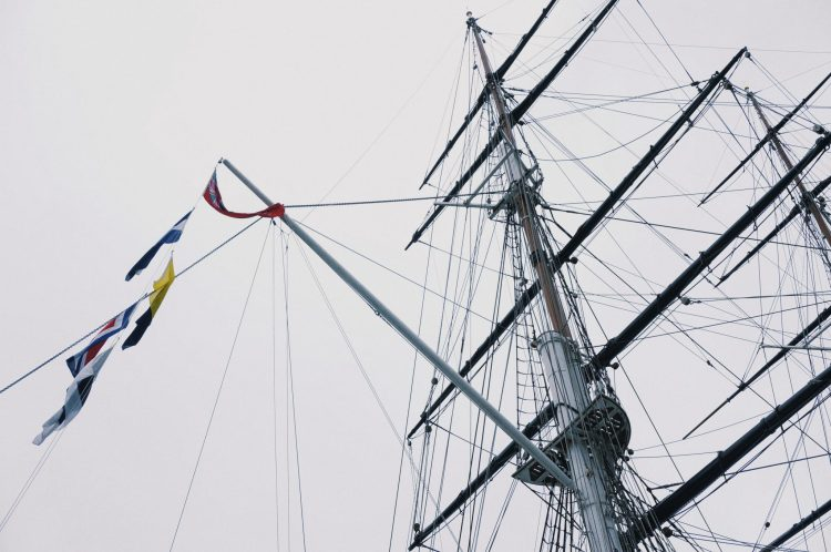 New Yorker Meets london Cutty Sark Greenwich