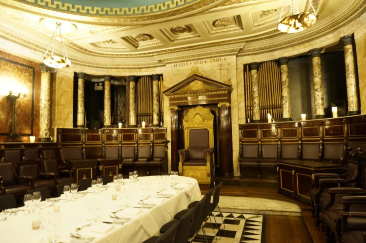 Masonic Temple Andaz Liverpool Street London Hotel Zomato Meetup
