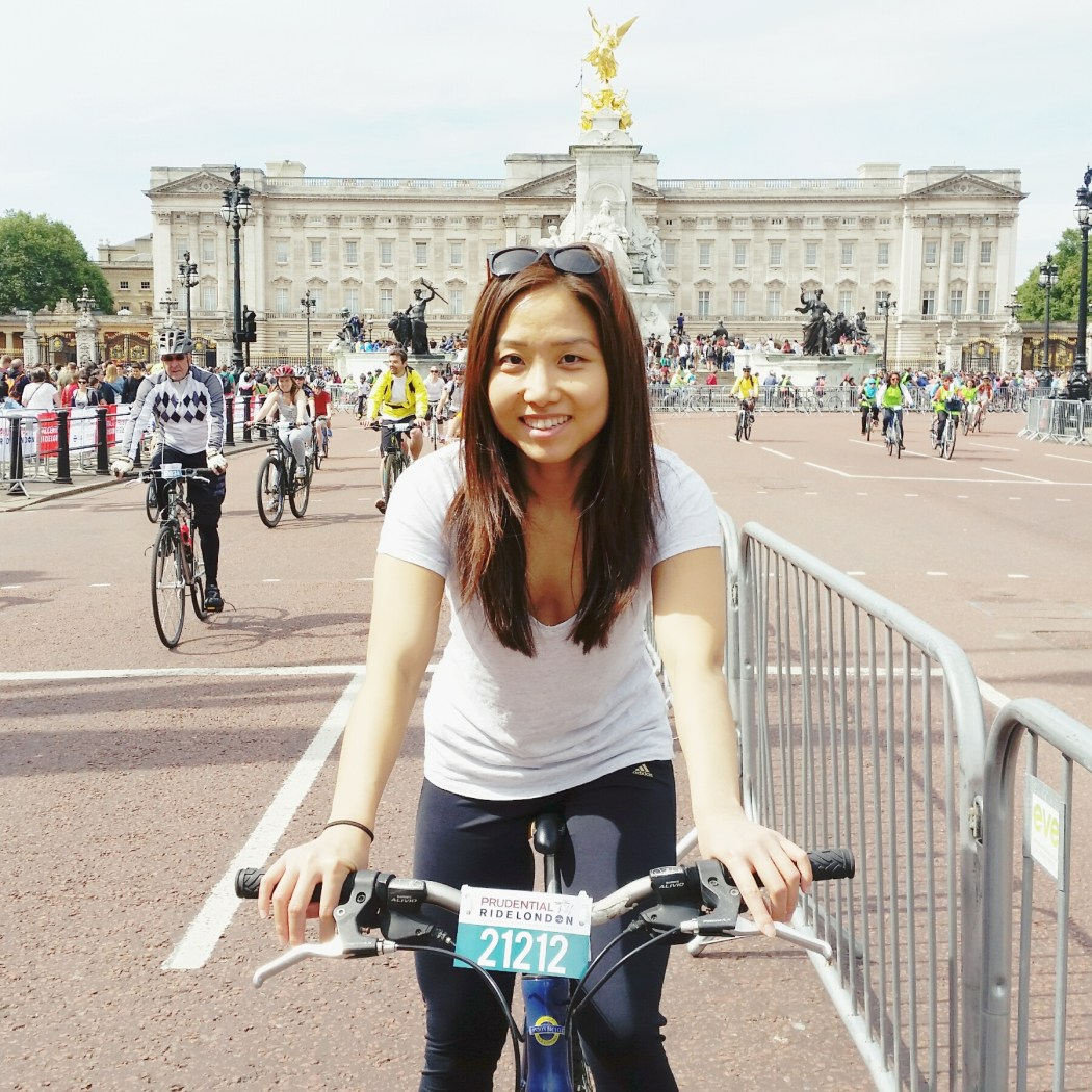 New Yorker Meets London Prudential Bike Ride