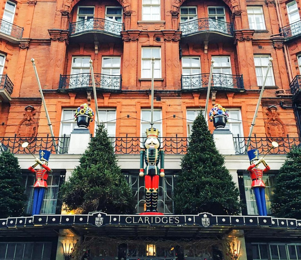 Claridges Hotel London Christmas Tree