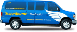 Super Shuttle NYC. Shared-ride ground transportation to and from Airport