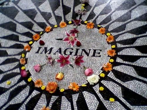 Imagine John Lennon Memorial Central Park Strawberry Fields