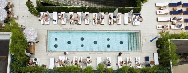 Dream Hotels The Beach Club Downtown Meatpacking NYC