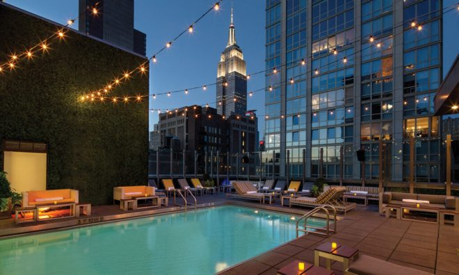 Gansevoort Hotel Park Ave S Rooftop Pool NYC