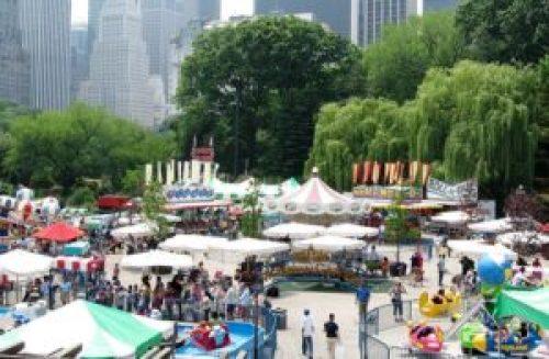Victorian Gardens Amusement Park in Central Park