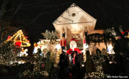 the polizzotto house dyker heights christmas lights 2016