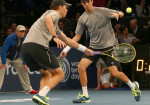 Bryan Brothers playing 150x105 BNP Paribas Showdown: Racketeering Permitted