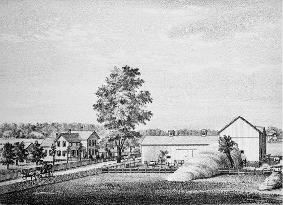Home and farm of E. A. Carpenter