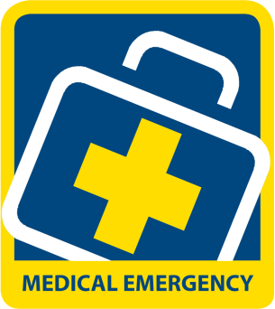parking in a medical emergency