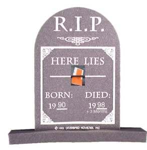 A parking ticket dies 8.3 years from birth