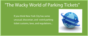 The Wacky World of Parking Tickets