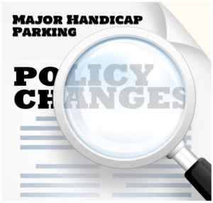 handicap parking ticket policy