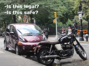 Motorcycles, NYC Parking Tickets, and Helpful Hints