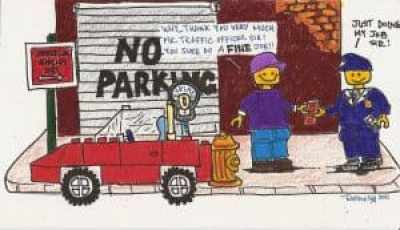 The Parking Ticket Reclamation Project artwork