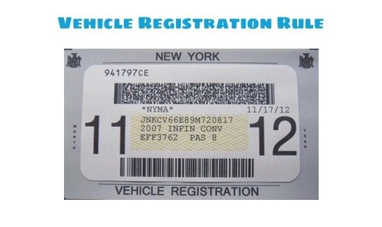 Traffic Ticket Nyc >> How to make Sense out of NYC Vehicle Registration Rule