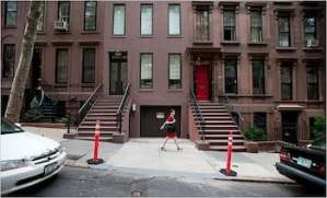 This is a NYC driveway