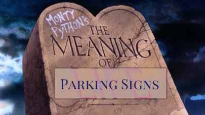 the meaning of NYC parking signs