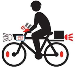 Bicycle-commercial deliveries NYC