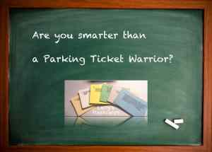 How's your NYC parking ticket knowledge?