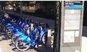 NYC bike share program sponsored by Citibank