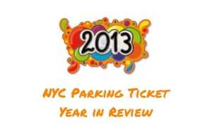 NYC parking ticket highlights for 2013