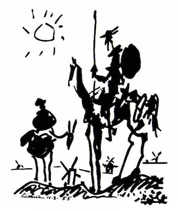 Don Quixote fights a NYC parking ticket