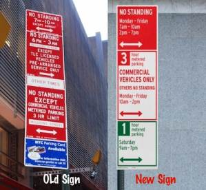 How to Understand a NYC Parking Sign & Avoid a Parking Fine