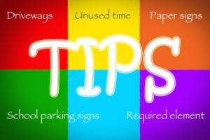 This image contains the list of tips that are the subject of this blog post