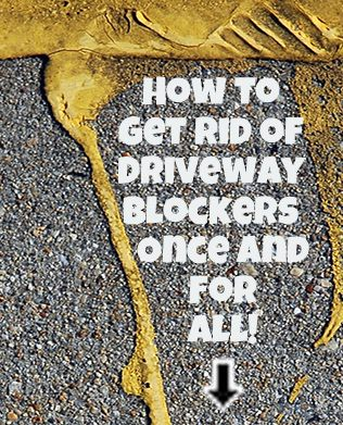Don't block NYC driveways