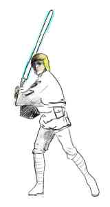 Luke Skywalker may the parking ticket force be with you