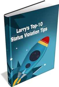 Guide to beating status violation parking tickets