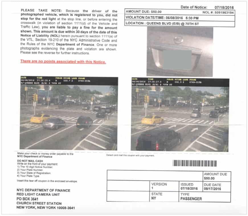 Nyc Traffic Light Tickets | Popular Home