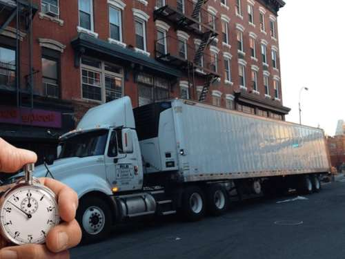 restricting commercial vehicle parking in NYC