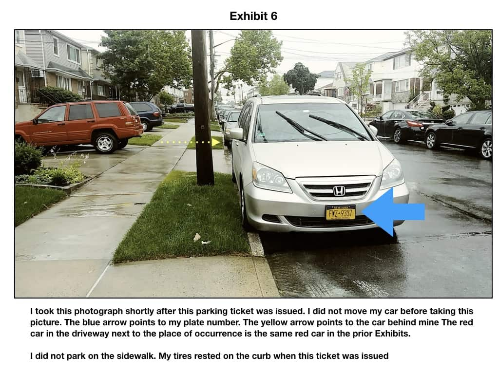 Yellow Curb Meaning >> Do Not Fight Sidewalk Parking Tickets Until You Read This