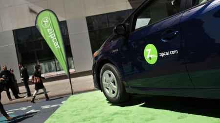 Zip car entered the NYC car sharing market