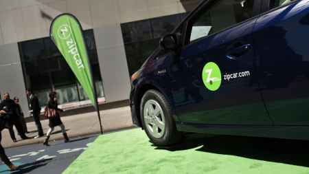 Zip car entered the NYC car sharing market