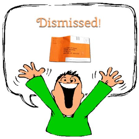 NYC parking ticket dismissed