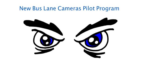 Bus lane camera pilot programs-eyes on you!
