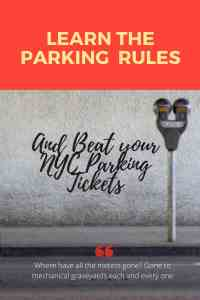 If parking rule is misdescribed your ticket will be dimissed