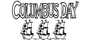 Columbus Day is a legal parking holiday in NYC