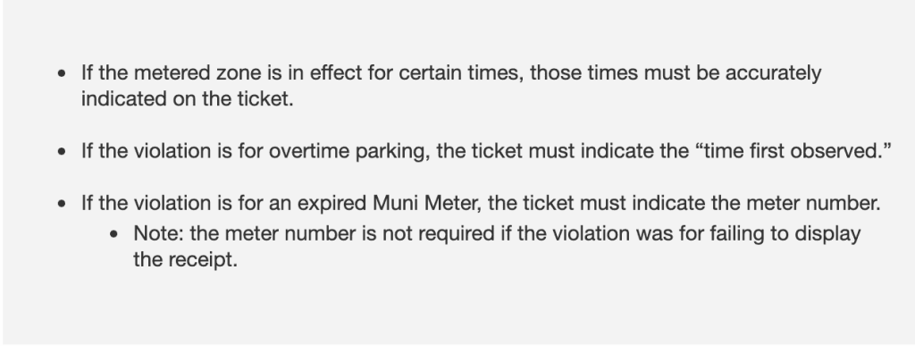 defending nyc parking tickets parking meter violations