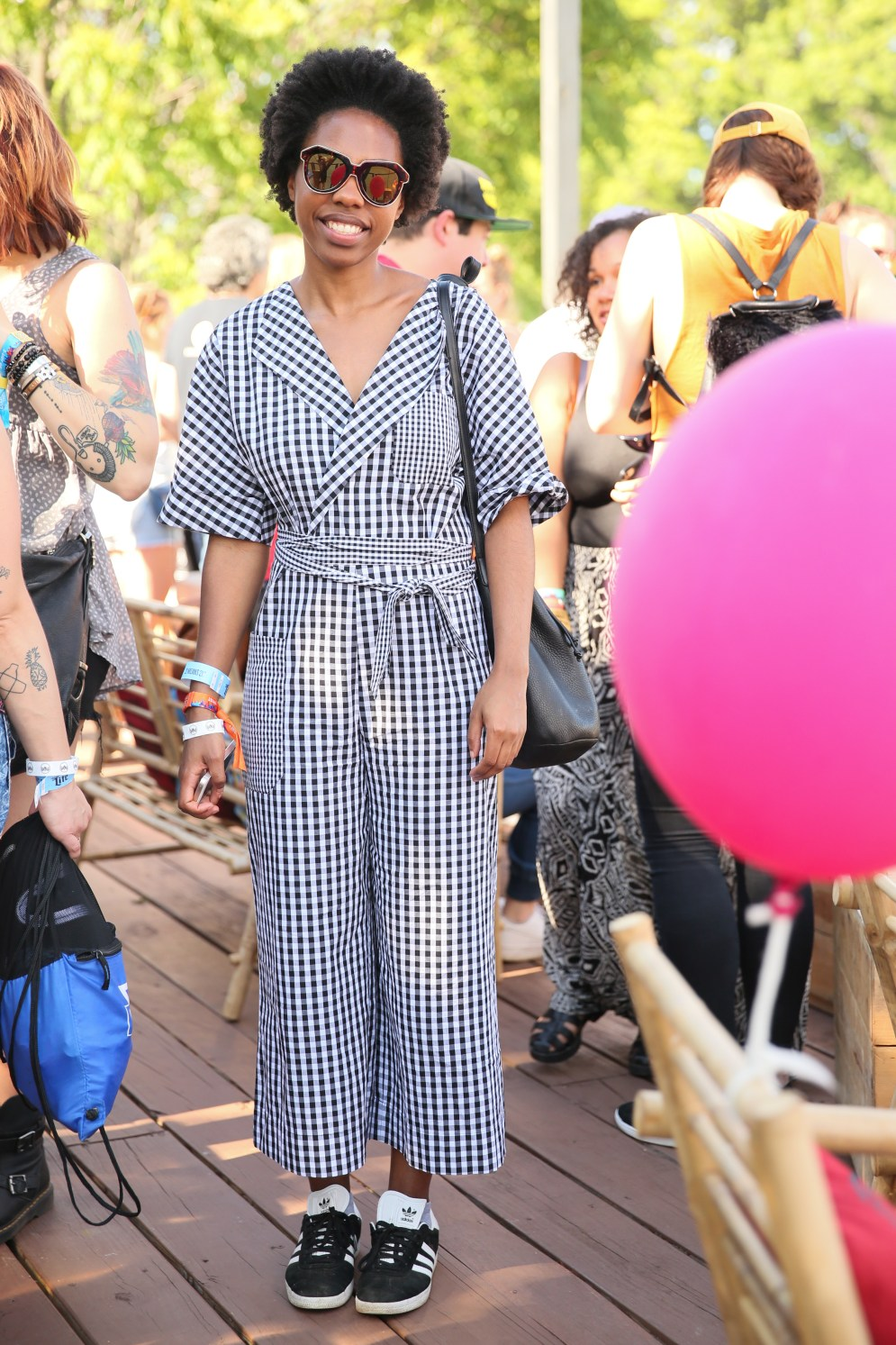 Taylor Bryant at CASA BACARDÍ : at the Governors Ball Music Festival
